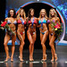 Bikini Open E 4th Kershaw 2nd Northup 1st Davies 3rd Johnson 5th Alfred