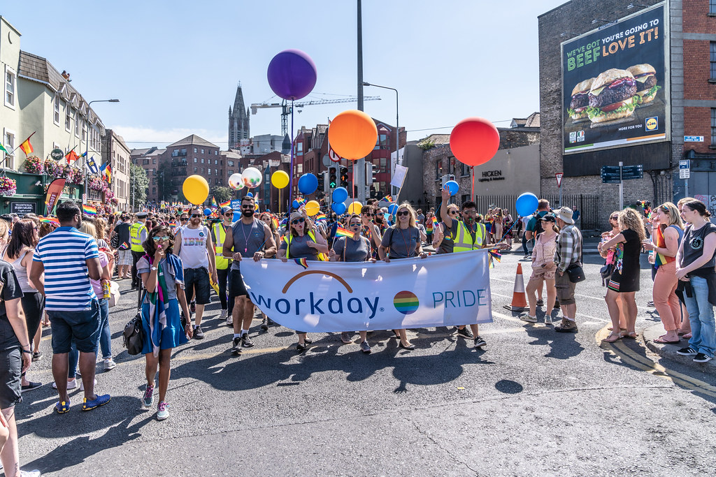 ABOUT SIXTY THOUSAND TOOK PART IN THE DUBLIN LGBTI+ PARADE TODAY[ SATURDAY 30 JUNE 2018] X-100035
