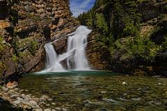 Sangfroid (charhedman) Tags: 52weekthemechallenge longexposure cameronfalls watertonpark sangfroid waterfall calmness pool rocks flickrcation