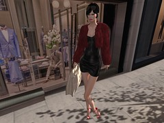 Trendy & Chic in Leather (Curiosse) Tags: