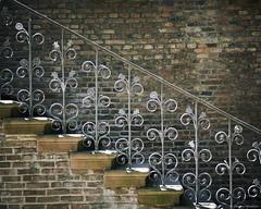 Treppe ('Okular') Tags: bauwerke treppe düsseldorf altstadt genre architektur jahreszeiten sommer