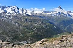La vue depuis le sommet du Rothorn (3103 m) (bertrand.fontaine) Tags: montagne valais suisse rothorn cervin matterhorn zermatt