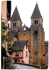 Conques-en-Rouergue (HOR-BS 696) Tags: conquesenrouergue okzitanien aveyron frankreich berndsontheimer lesplusbeauxvillagesdefrance weltkulturerbe klosterkirchesaintefoy