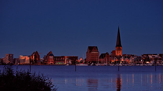 Rostock Blue Hour