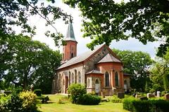 Marienkirche Basthorst (sabine1955) Tags: basthorst kirche church friedhof cemeterie bäume trees landscape