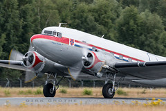 DDA_DC-3_PH-PBA_20180715_LBC-17 (Dirk Grothe | Aviation Photography) Tags: classic dutch dakota dc3 phpba lbc lübeck dda