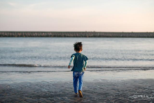青鯤鯓夏天半日遊 呷冰、呷蚵嗲、玩海沙 (33)