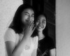 Relative (Beegee49) Tags: street cousins nieces posing smiling bacolod city philippines filipina