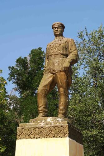 Grigory Kotovsky Statue