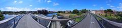 Castleford Footbridge 0462-0471 (Yorkshire Pics) Tags: panorama castlefordpanorama catlefordfootbridge castlefordbridge castleford 2207 22072018 22ndjuly 22ndjuly2018