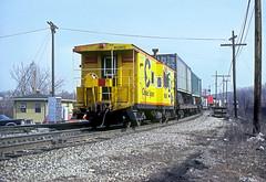 B&O Caboose 903932 (Chuck Zeiler) Tags: bo caboose 903932 railroad akron train chuckzeiler chz chessie