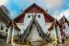 Wat in, chiangmai  Thailand (www.icon0.com) Tags: thailand temple buddhism culture travel architecture religion asia chiangmai landmark ancient wat traditional thai art asian tourism buddha buddhist building religious beautiful gold statue history pagoda background sculpture