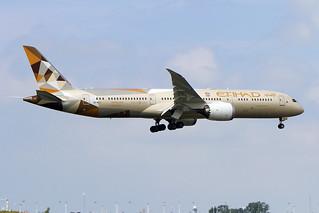 A6-BLJ, Boeing 787-9 Dreamliner, Etihad Airways
