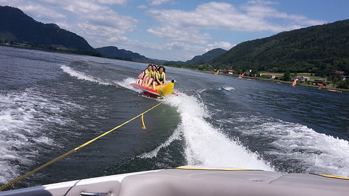 Dienstag Nachmittag - Action am See