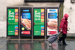 The Nations Favourite (stevedexteruk) Tags: bridgend wales rain shopping subway telephone box kiosk 2018