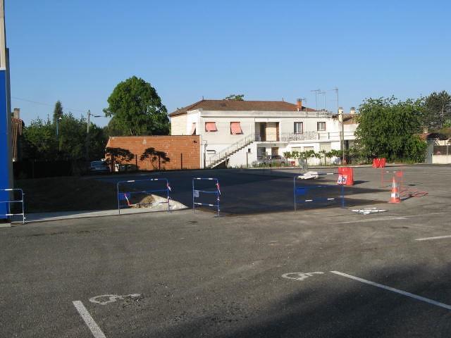 Parking Chaussard, les travaux bientôt terminés !