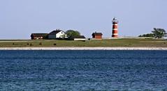 Närsholmens Fyr (AnetteWho) Tags: gotland sweden sea lighthouse red landscape tower