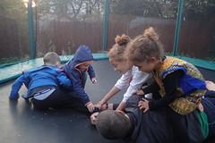 anniversaire 5 ans Enoé (redjoshuameg) Tags: gaël maëlys camille enoé siméo trampoline