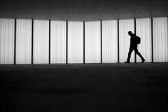Oerlikon (maekke) Tags: zürich oerlikon trainstation sbb zvv bw noiretblanc silhouette architecture urban underground fujifilm x100t 35mm pointofview pov 2018 ch switzerland man
