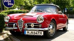 Alfa Romeo Giulietta Spider (vwcorrado89) Tags: alfa romeo giulietta spider 1600 cabrio cabriolet convertible roadster