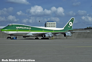 Iraqi Airways B747-270F/SCD YI-AGP