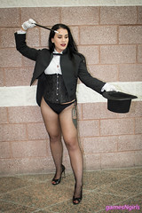 Zatanna cosplay (The Doppelganger) Tags: zatanna zatannazatara dccomics cosplay cosplayer fishnets fishnetstockings heels legs sexycosplay animenext animenext2018