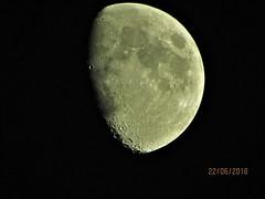 Moon 22/06/2018 (daveandlyn1) Tags: moon craters superzoom sx30is canon bridgecamera