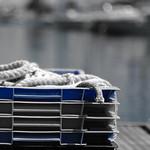 corde de pêcheur et casier - fisherman's rope and locker thumbnail