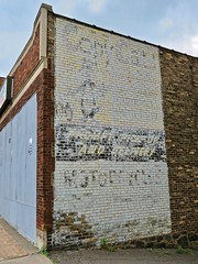 Faded Ghost Sign, Duluth, MN (Robby Virus) Tags: duluth minnesota mn copy cats ghost sign signage faded ad advertisement prompt pickup delivery motorcycles