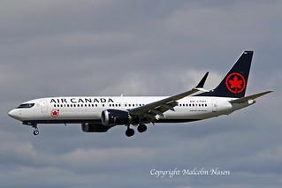B737 MAX8 C-FSCY AIR CANADA