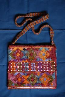 Maya Weaving Morral Bag Chiapas Mexico