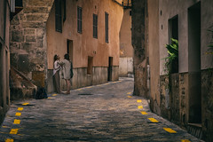 Relax... (8230This&That) Tags: europe mallorca mediteranean palmademallorca spain art culture history island ruins street streetpeople balearicislands women alley alleyway backstreets massage people palma illesbalears es