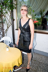 leathermandy008220a (Rikinferno) Tags: mandysommer leather fetish skirt latex boot