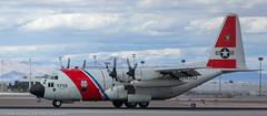 Coast Guard C-130 at KLAS (Alaskan Dude) Tags: travel las klas mccarren mccarreninternationalairport planespotting airplanes airliners airliner aviation planewatching