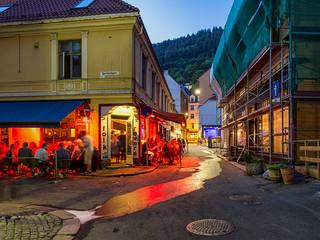 Nightlife in Bergen / Norway 2018
