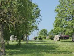 Stone Circle on Smarts Green roundabout, Chipping Sodbury, Glos (janetg48) Tags: gwuk glos chippingsodbury stonecircle