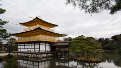 Kinkaku-ji Temple, Kyoto, Japan (J3090) Tags: kyoto japan temple kinkakuji travel water lake