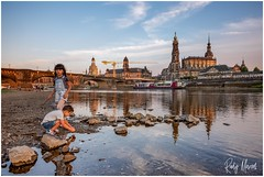 Greetings From Dresden (RudyMareelPhotography) Tags: dresden elbe germany saxony cityscape sachsen de flickrclickx flickr ngc