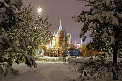 Moscow by night. Russian fairy tale (Andrey Sulitskiy) Tags: russia moscow россия москва
