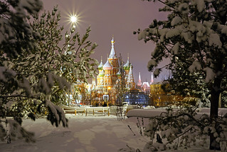 Moscow by night. Russian fairy tale