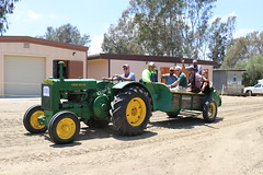 Parade Shot (AGSEM1976) Tags: agsem vista ca socal california 92083 parade antique engine tractor show buick army green advance steam sawmill saw mill working condition june event public biannual october