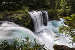 Closer to the Fall (Matt Straite Photography) Tags: waterfall water stream river spirit gorge columbiarivergorge columbia detail landscape canon tripod
