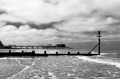 Cromer beach and pier (Davoski) Tags: pier cromer norfolk coast groyne clouds