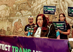 2018.07.17 #ProtectTransHealth Rally, Washington, DC USA 04716