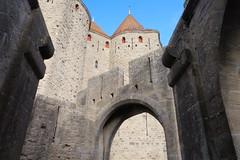 Carcassonne (3) / Occitania / França / France / Francia (Ull màgic (+1.500.000 views)) Tags: carcassonne carcasona occitania frança france francia muralla porta torre citémédiévale teulades fuji xt1