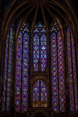 The stained glass windows at Sainte-Chapelle in Paris were incredible!