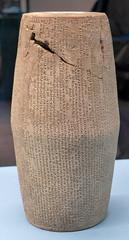 L1070788 (H Sinica) Tags: hongkonghistorymuseum britishmuseum nineveh babylonian babylon cuneiformcylinder