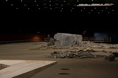 Val d'Aosta - Aosta - Area megalitica di S.Martin de Corleans: simulazione di luce ambientale diurna (mariagraziaschiapparelli) Tags: aosta valdaosta areamegaliticadistmartindecorleans corleans stmartindecorleans museo