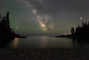 Little Hunters Beach At Night (Mike Ver Sprill - Milky Way Mike) Tags: little hunters beach milky way mike galaxy long exposure stars air glow star acadia national park travel space starry landscape nightscape night sky nikon d810 reflections sea bar harbor maine jupitor mars