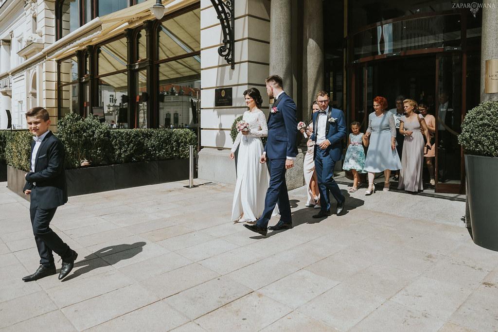 122 - ZAPAROWANA - Kameralny ślub z weselem w Bistro Warszawa